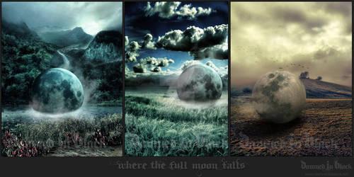 Where the full moon falls