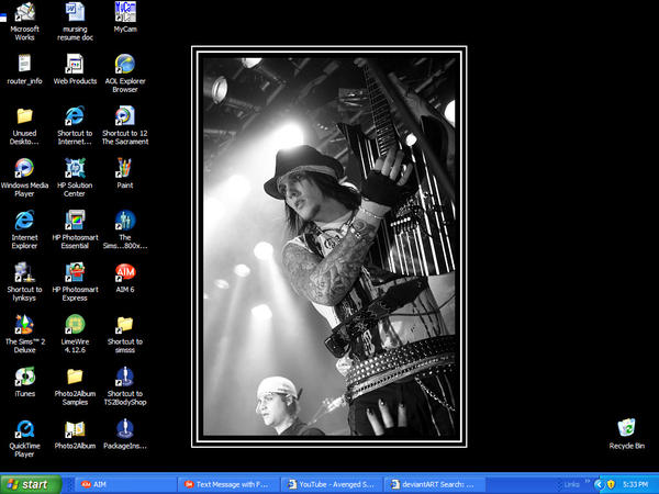 synyster desktop...how BA by Zantana