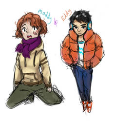 Eddy and Maddy Chibi samples