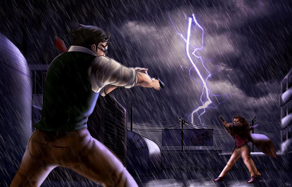 Standstill in a storm