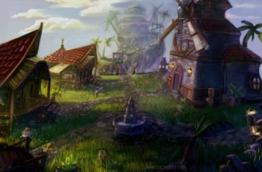 Sandover Village by Lucygart