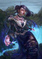 Dark Mage by Lucygart