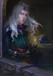 Rhaegar Targaryen by Lucygart