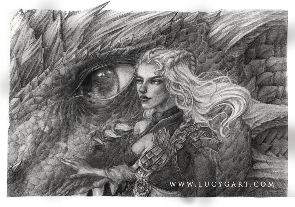 Danaerys Targaryen by Lucygart