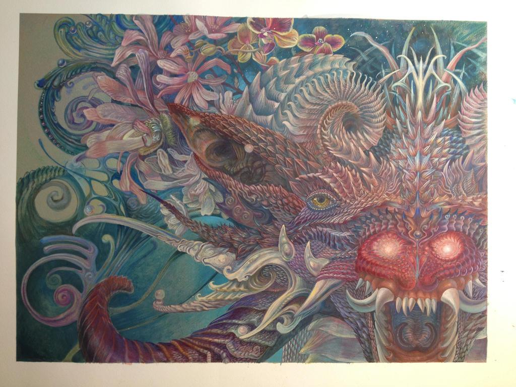 Quetzalcoatls Daughter by atomsanddust
