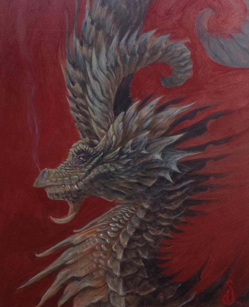 Deviant Dragon by atomsanddust