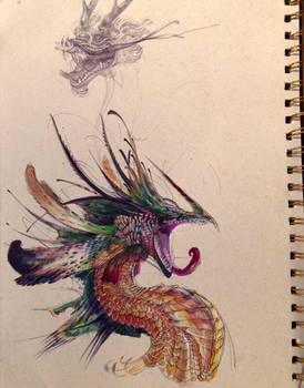 Acrylics Dragon Final