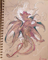 Dragon With Egg
