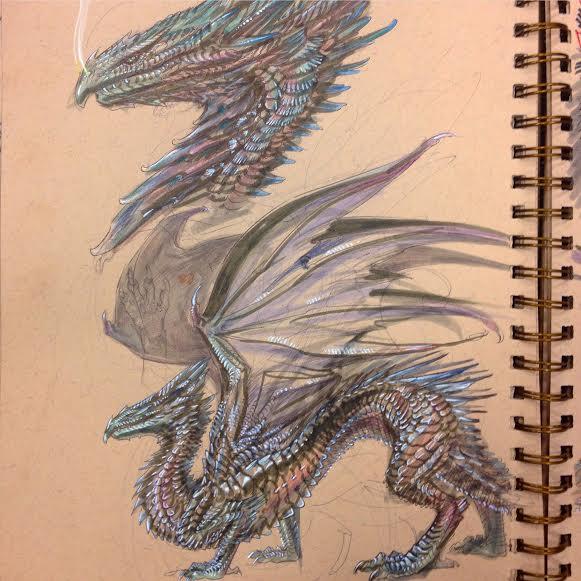 Metallic Dragon by atomsanddust