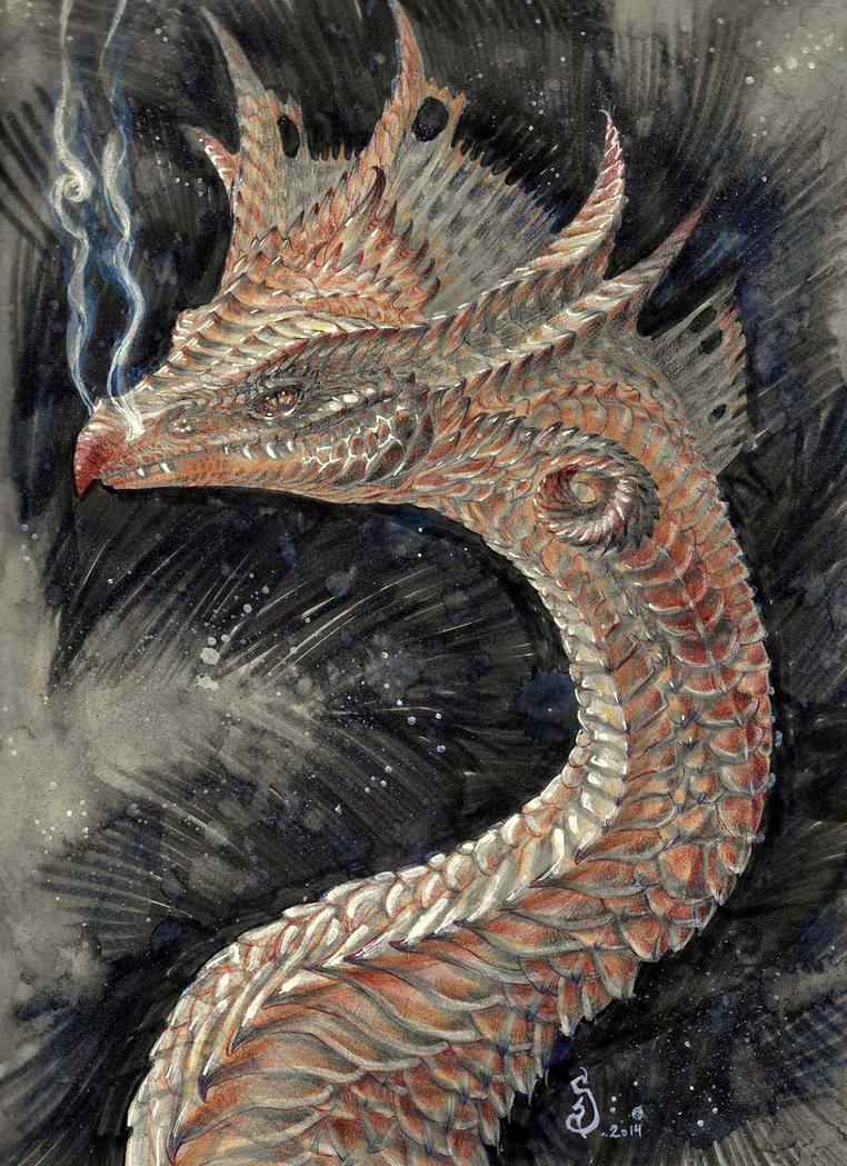 Dragon Cosmos by atomsanddust