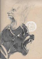 Werewolf Face Transformation by atomsanddust