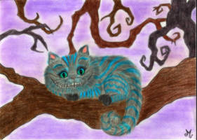 Chess the Cheshire Cat by Mercantille