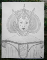 Queen Amidala by Mercantille