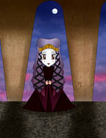 Chibi Amidala : Funeral Dress by Mercantille
