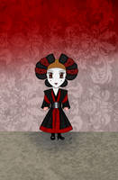 Chibi Amidala : Sabe Battle Gown by Mercantille