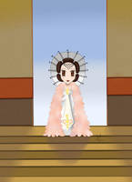 Chibi Amidala : Victory Gown by Mercantille