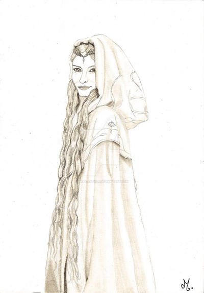 Galadriel by Mercantille