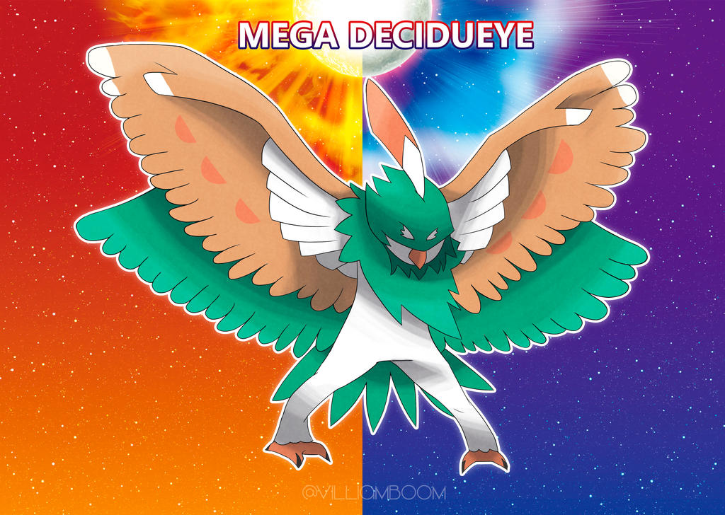 Mega Decidueye By Villi C On Deviantart