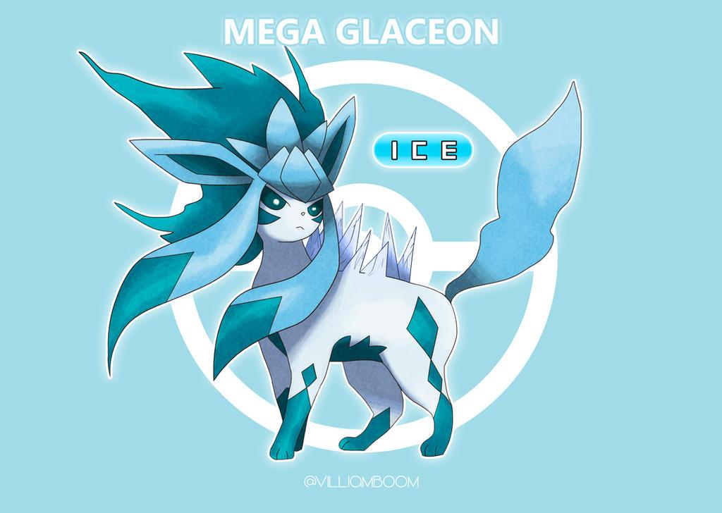 Mega Glaceon By Villi C On Deviantart