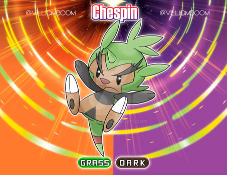 Alolan Chespin!