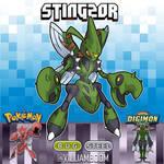 STINGMON X SCIZOR
