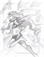 Starfire Rough Sketch by animaddict