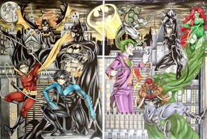 The Battle For Gotham by animaddict