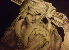 Devil May Cry 4 Sketch by animaddict