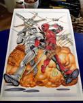 Deadpool/Stormtrooper tattoo