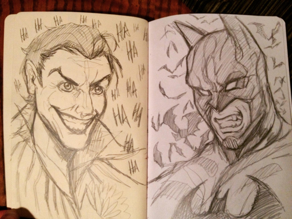 The Jester and the Bat by animaddict