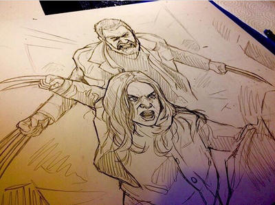 The Wolverines (Laura and Logan) by animaddict