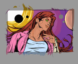 Starfire (WIP) Adobe Illustration