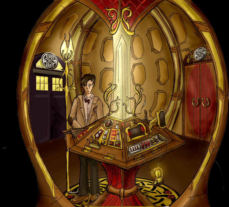 My TARDIS Interior By HerbalJabbage ...