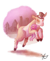 Vote Goat! by HerbalJabbage