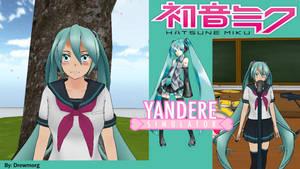 Yandere Simulator Skins- Hatsune Miku