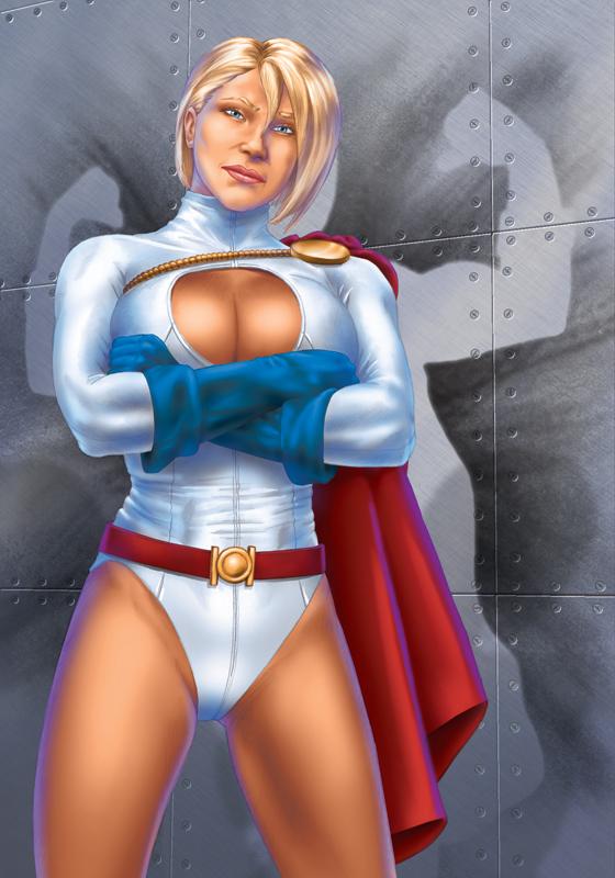 Power Girl by OzWonderland