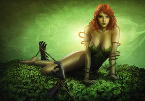 Poison Ivy Print by OzWonderland