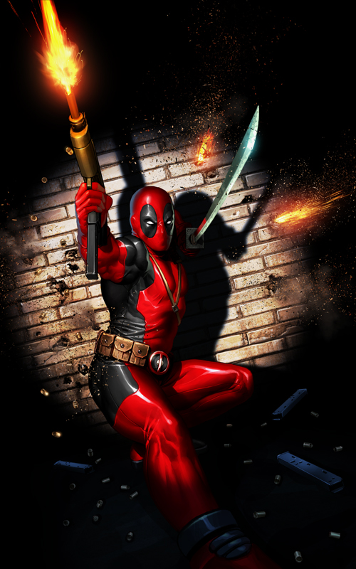 Deadpool Print -New Version by OzWonderland