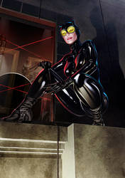 Catwoman Print PG Version