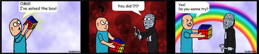 Hellraiser Comic by rubenick