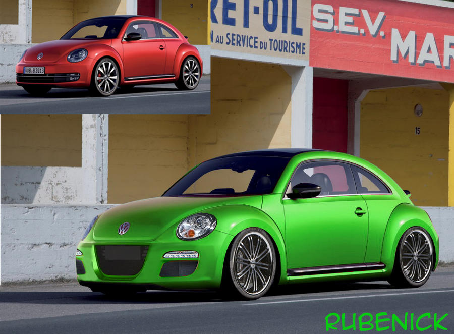 virtual tuning volkswagen new beetle by rubenick on. Black Bedroom Furniture Sets. Home Design Ideas