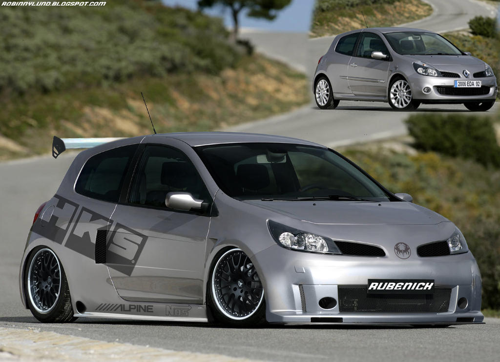 Virtual Tuning: Renault Clio by ~rubenick on deviantART