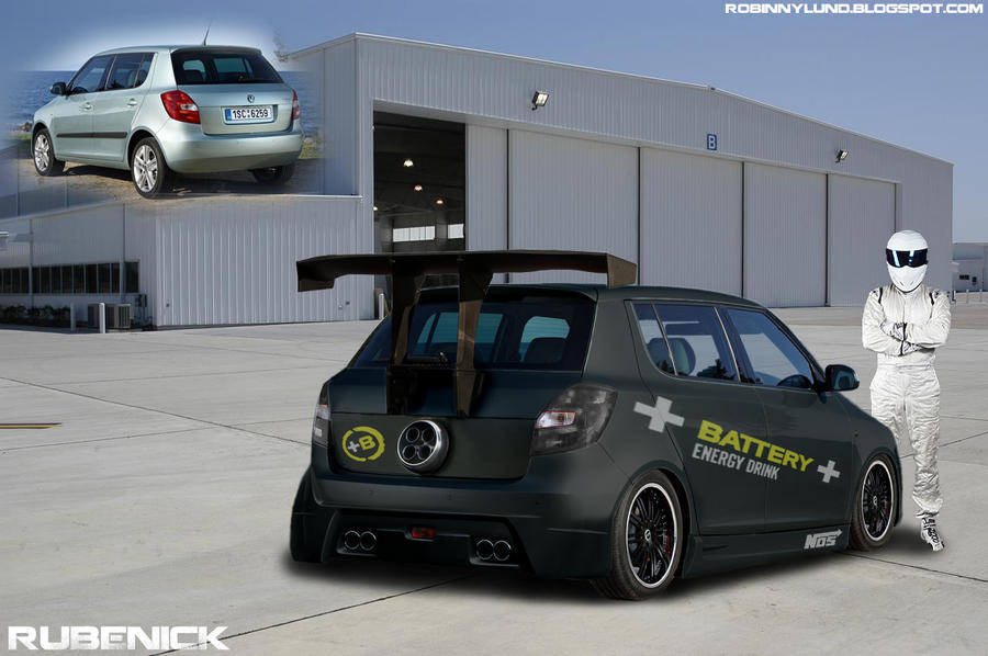 virtual tuning skoda fabia by rubenick on deviantart. Black Bedroom Furniture Sets. Home Design Ideas