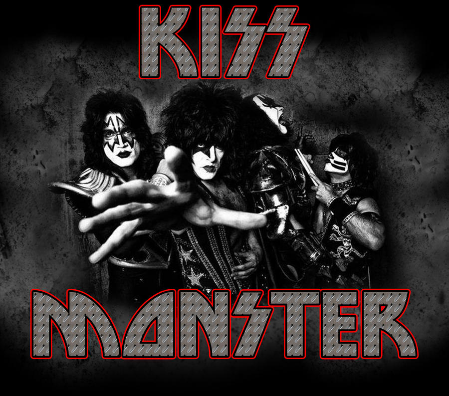 custom album cover kiss monster by rubenick on deviantart. Black Bedroom Furniture Sets. Home Design Ideas