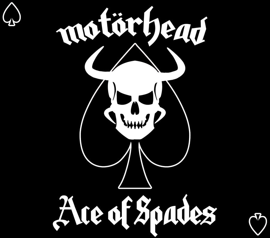 die fahrzeuge werden motorhead ace of spades cover. Black Bedroom Furniture Sets. Home Design Ideas
