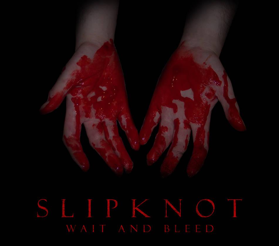 Custom Album Cover: Slipknot - Wait and Bleed by rubenick on DeviantArt