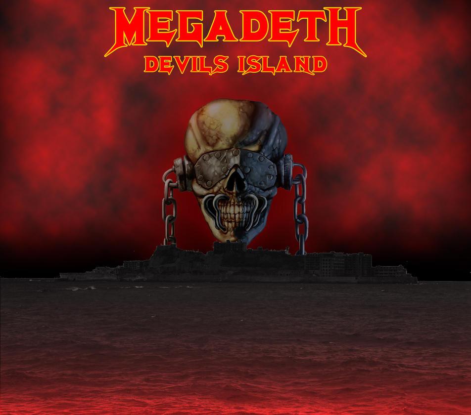 Custom album cover megadeth devils island by rubenick on deviantart - Customiser album photo ...