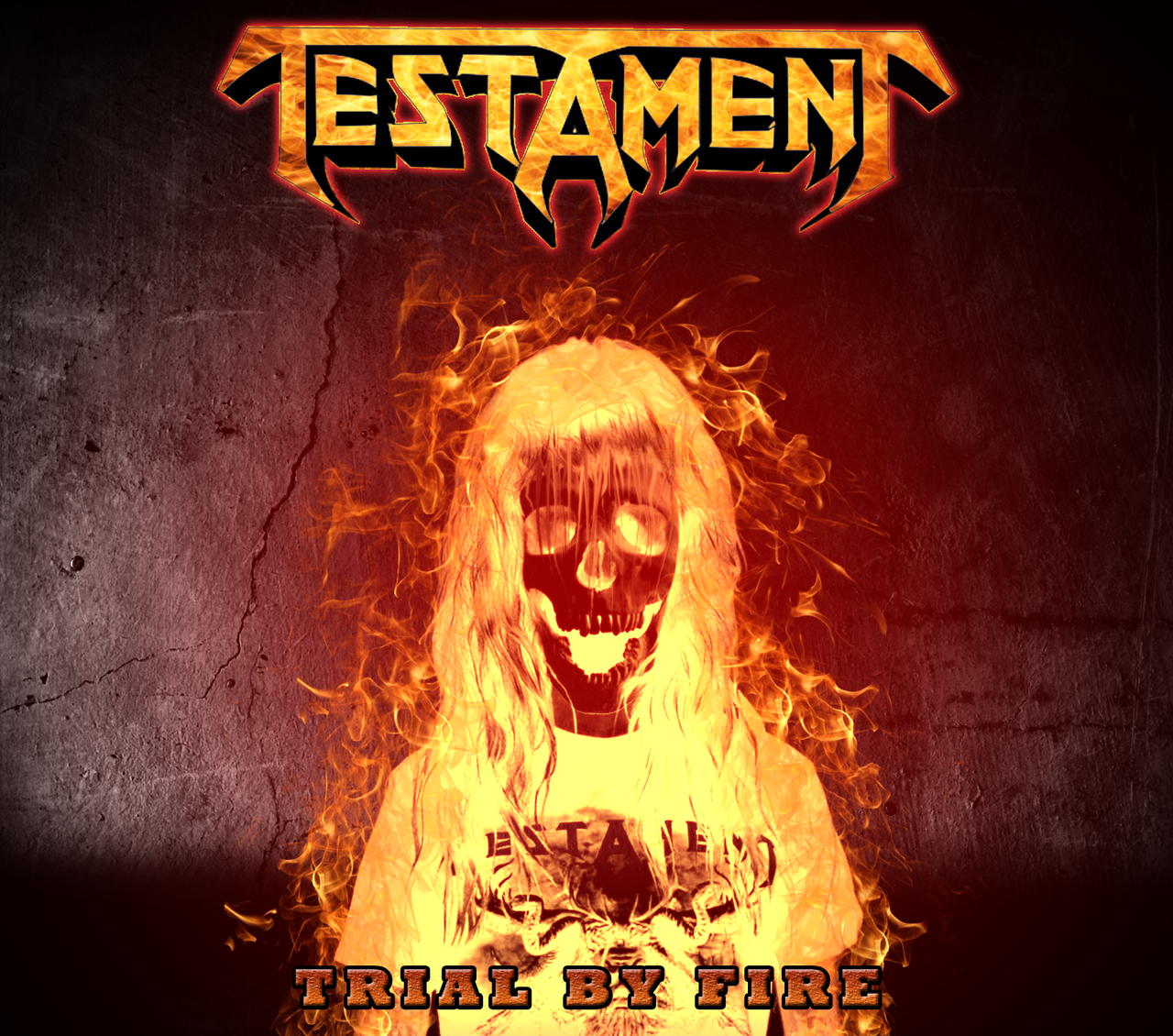 Custom Album Cover Testament  Trial By Fire By Rubenick. Good School Social Worker Resume Sample. Credit Card Receipt Template. Best Excel Budget Template. Free Funeral Pamphlet Template