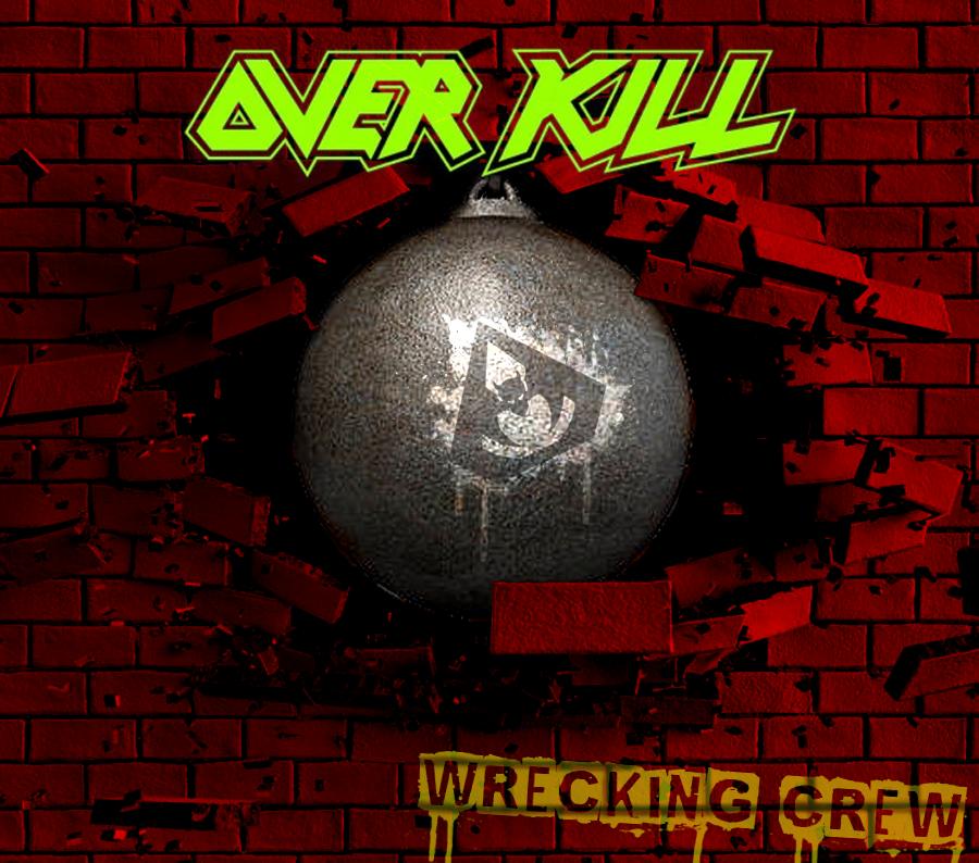 Custom Album Cover: Overkill - Wrecking Crew by rubenick