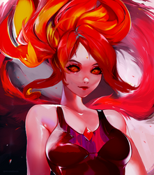 Flame Princess by HiroKattsuki